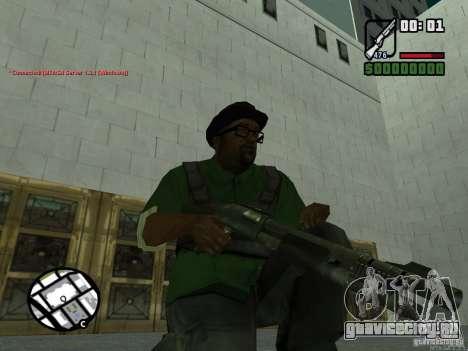 Black Weapon by ForT для GTA San Andreas второй скриншот