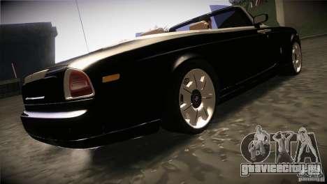 Rolls Royce Phantom Drophead Coupe 2007 V1.0 для GTA San Andreas вид справа