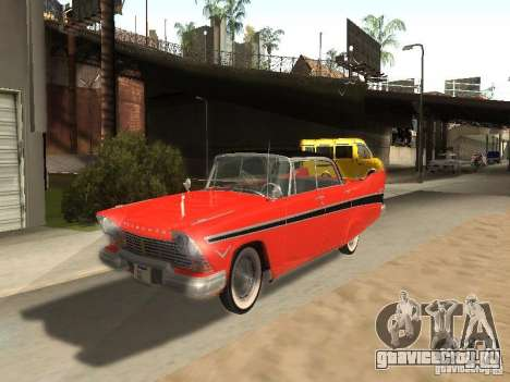 Plymouth Belvedere Sport sedan для GTA San Andreas
