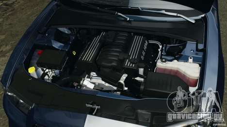 Dodge Charger SRT8 2012 v2.0 для GTA 4 вид сверху