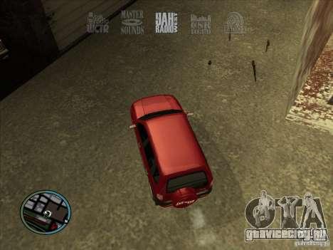 RADIO HUD IV 3.0 для GTA San Andreas второй скриншот