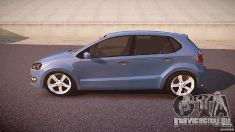 Volkswagen Polo 2011 для GTA 4 вид слева