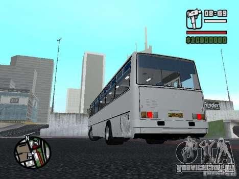 Ikarus 266 Городской для GTA San Andreas вид сзади слева