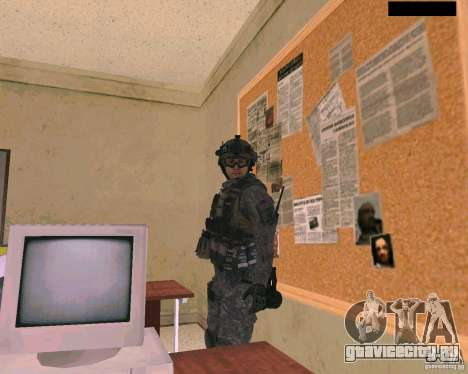 Скин солдата из Cod MW 2 для GTA San Andreas третий скриншот