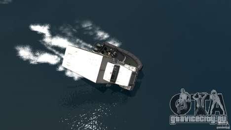 Benson boat для GTA 4 вид справа