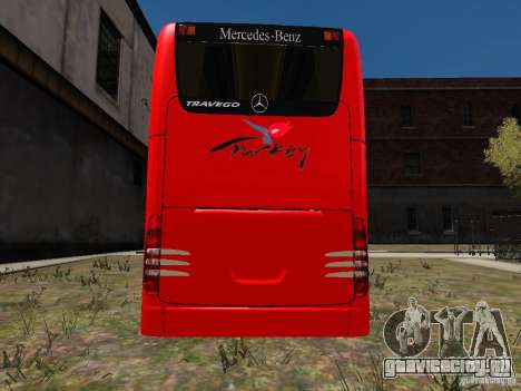 Mercedes Travego для GTA 4 вид справа