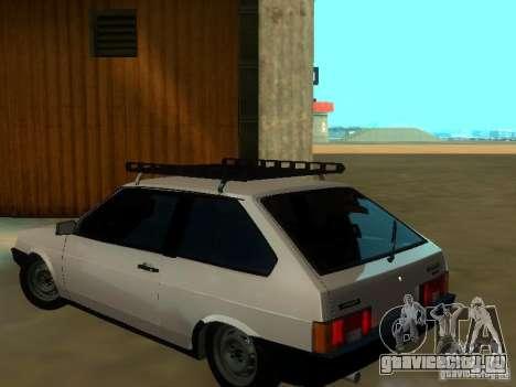 Ваз 2108 для GTA San Andreas вид слева