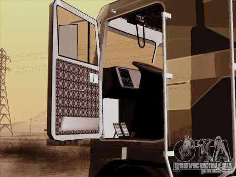 Kenworth K100 Aerodyne для GTA San Andreas вид сзади