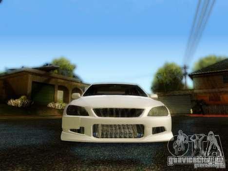 Lexus IS300 Jap style для GTA San Andreas вид изнутри