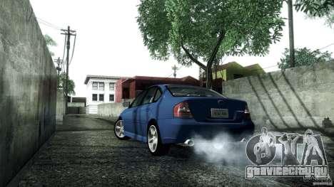Subaru Legacy B4 3.0R specB для GTA San Andreas вид справа