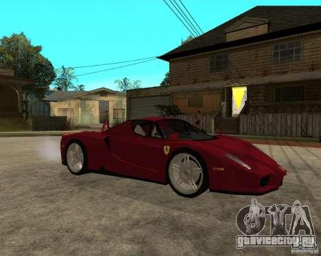 Ferrari ENZO 2003 v.2 final для GTA San Andreas вид справа