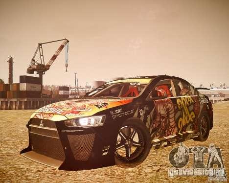 Mitsubishi Lancer Evo X Ryo King для GTA 4