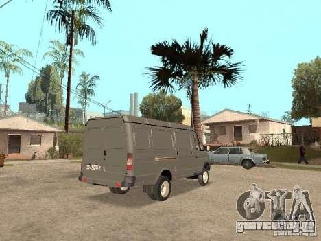 ГАЗель 2705 1994г.в. для GTA San Andreas вид справа