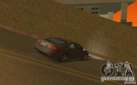 Audi RS6 TT Black Revel для GTA San Andreas вид справа