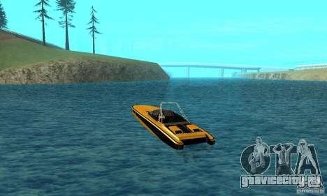 GTAIV TBOGT Blade для GTA San Andreas вид сзади слева
