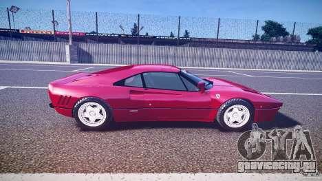 Ferrari 288 GTO для GTA 4 вид слева