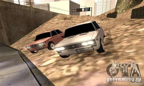 ВАЗ 2106 Light Tuning для GTA San Andreas вид изнутри