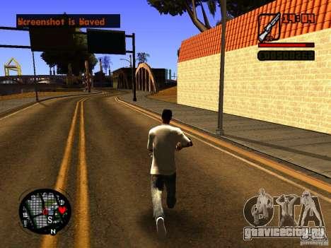 GTA IV Animation in San Andreas для GTA San Andreas второй скриншот