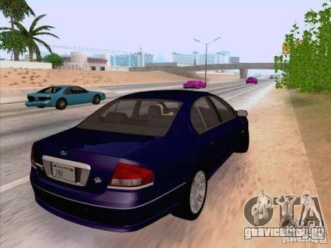 Ford Falcon Fairmont Ghia для GTA San Andreas вид сзади слева