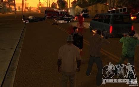 Бригада VERSION 2.0 для GTA San Andreas третий скриншот