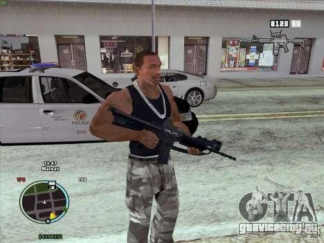 Пак оружия из GTA IV для GTA San Andreas третий скриншот