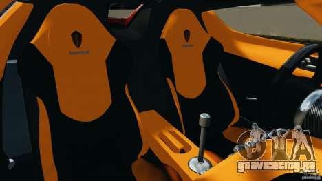 Koenigsegg CCX 2006 v1.0 [EPM][RIV] для GTA 4 вид изнутри