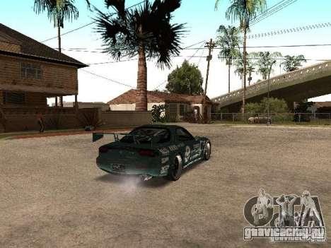 Mazda RX-7 Pro Street для GTA San Andreas вид справа