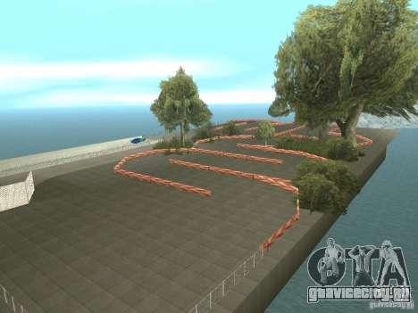 New Drift Track SF для GTA San Andreas третий скриншот