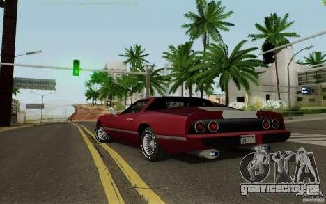 Phoenix HD для GTA San Andreas вид слева