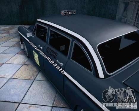 Diablo Cabbie HD для GTA San Andreas вид изнутри
