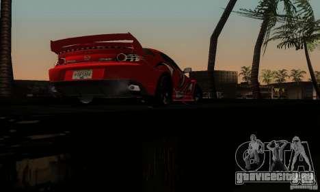 Mazda RX-8 Tuneable для GTA San Andreas вид снизу