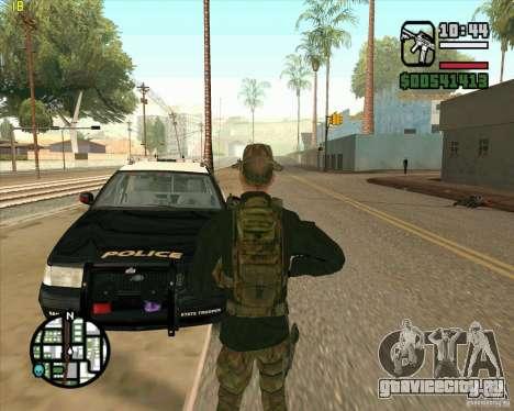 Скин Praice из COD 4 для GTA San Andreas третий скриншот