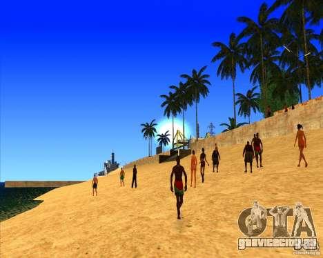 Красивые настройки ENBSeries для GTA San Andreas третий скриншот