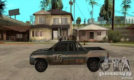 Nevada from FlatOut 2 для GTA San Andreas вид слева