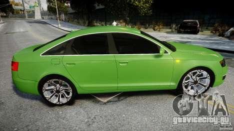 Audi A6 TDI 3.0 для GTA 4 вид сверху