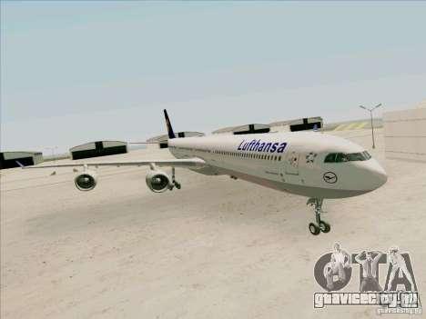 Airbus A-340-600 Lufthansa для GTA San Andreas