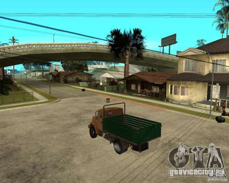 Зил-433362 Extra Pack 1 для GTA San Andreas вид сзади