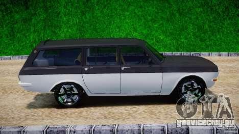 ГАЗ 24-12 1986-1994 Tuning для GTA 4 вид изнутри