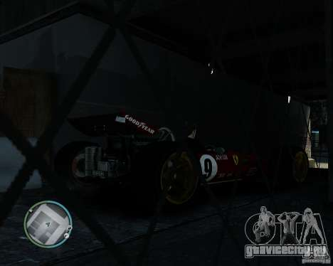 Ferrari F1 v1.0 для GTA 4 вид сзади слева
