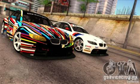 BMW M3 GT2 для GTA San Andreas вид слева