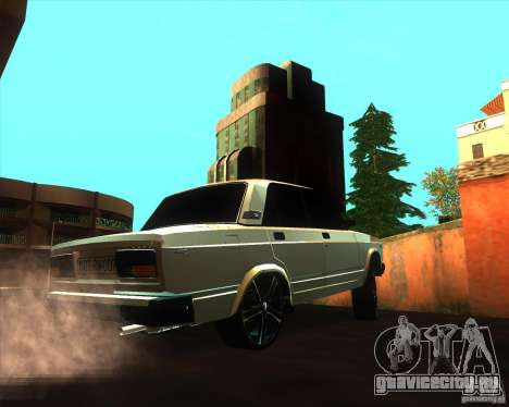 VAZ 2107 Azeri Style для GTA San Andreas вид справа