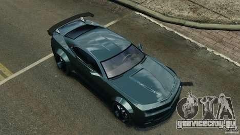 Chevrolet Camaro SS EmreAKIN Edition для GTA 4 вид снизу