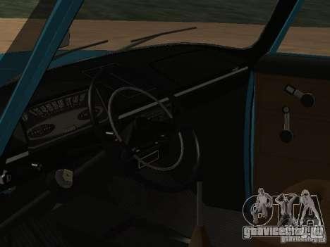 Иж 2125 v2 для GTA San Andreas вид сзади