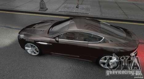 Aston Martin DBS v1.0 для GTA 4 вид слева