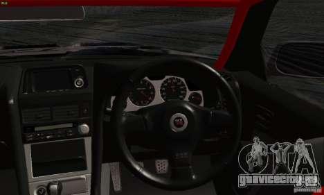 Nissan Skyline R34 Blitz для GTA San Andreas вид справа