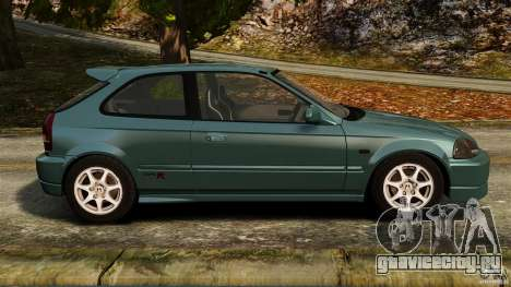 Honda Civic Type R (EK9) для GTA 4 вид слева