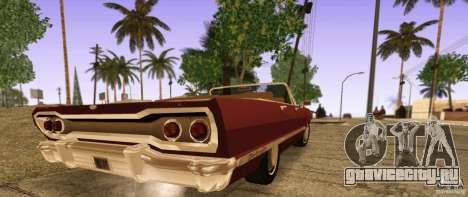 Savanna Detroit 1965 ( v. 2 ) для GTA San Andreas вид слева
