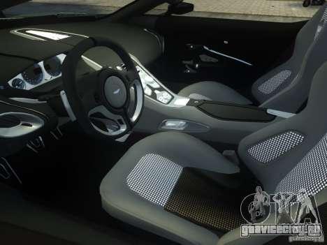 Aston Martin One 77 2012 для GTA 4 вид сбоку