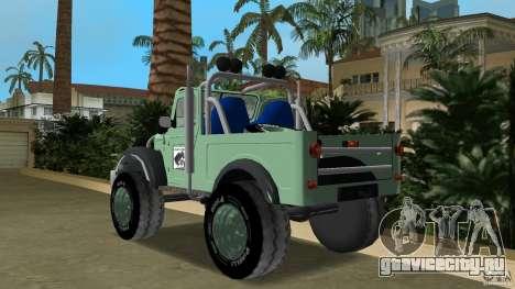 Aro M461 Offroad Tuning для GTA Vice City вид сзади слева
