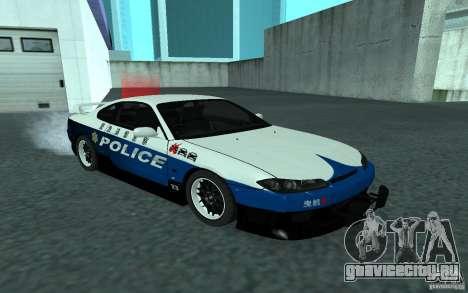 Nissan Silvia S15 Police для GTA San Andreas